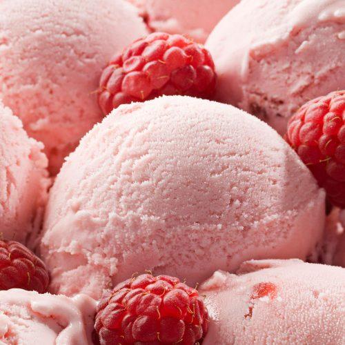 Pasta para elaboración de helado de Frambuesa Manar