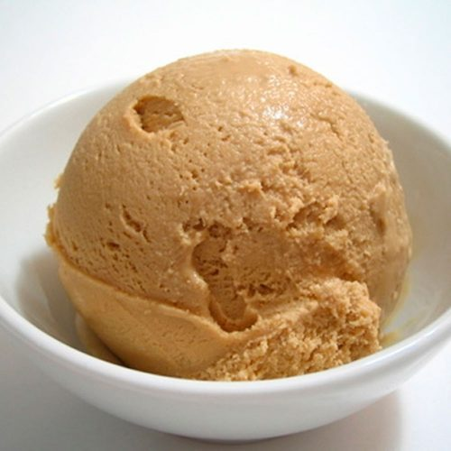 Pasta para elaboración de helado con sabor a dulce de leche Manar